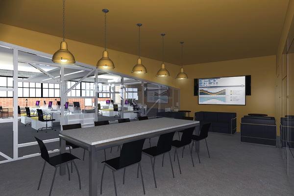 Διαμόρφωση χώρων γραφείων σε βιομηχανικό κτήριο 3