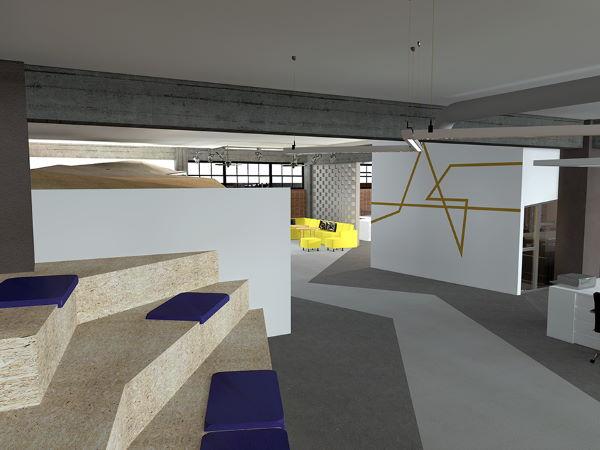 Διαμόρφωση χώρων γραφείων σε βιομηχανικό κτήριο 4